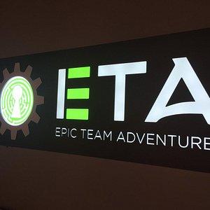 ETA's new backlit logo