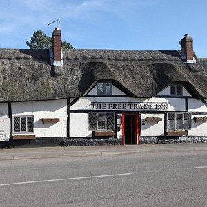 Front Of The Free Trade Inn
