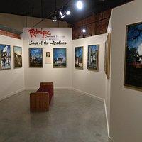 "Rodrique ""Saga of the Acadians"" paintings display"