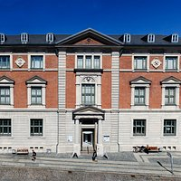 Aalborg Historiske Museums facade ud mod Algade