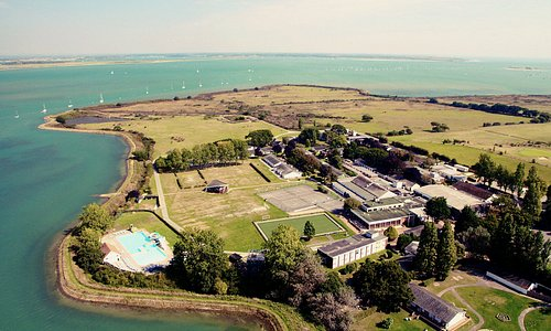 Aerial shot of Mill Rythe