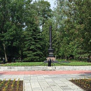 Общий вид памятника Грацинскому