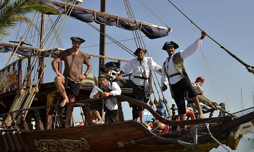 Black Sam Pirate Ship