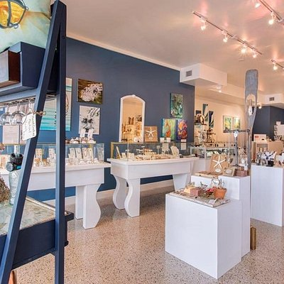 Coast is home to a unique array of local handcrafted art, jewelry and gifts.