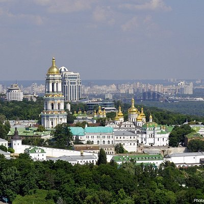 Kiev-Pechersk Lavra view
