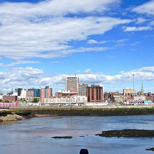 View on Saint John from the Harbour Passage