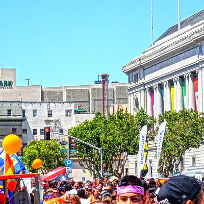 The annual event, last Sunday in June. Not to be missed if your in SF in June . Festival held in