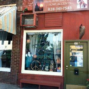 Serenity Mountain Gift Shop Downtown Murphy