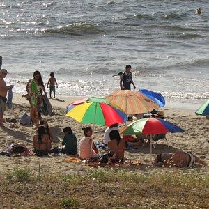 Playa Bellavista en verano
