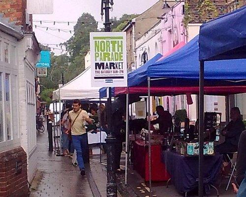 North Parade Market, Oxford