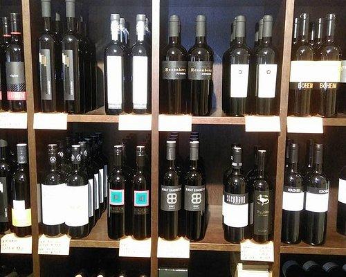 Große Auswahl an österreichischen Weinen