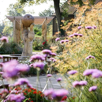 Wyndham Park, Grantham - Sensory Garden