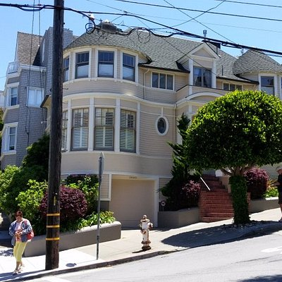 Mrs, Doubtfire House, San Francisco, CA, May 2016