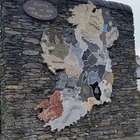 Stone monument of Ireland, each of the 32 counties carved from native Irish stone