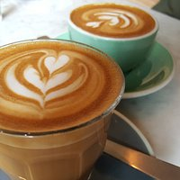 Latte and Flat white