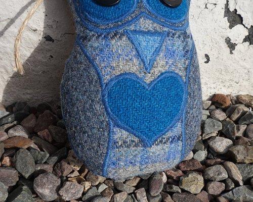 The Harris Tweed Owl!