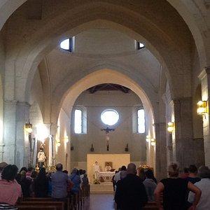 interno della chiesa Madre (navata centrale)