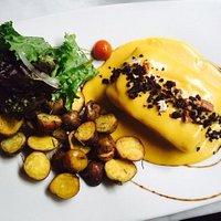Peruvian chicken and potatoes