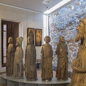 Estatuas originales de los apóstoles