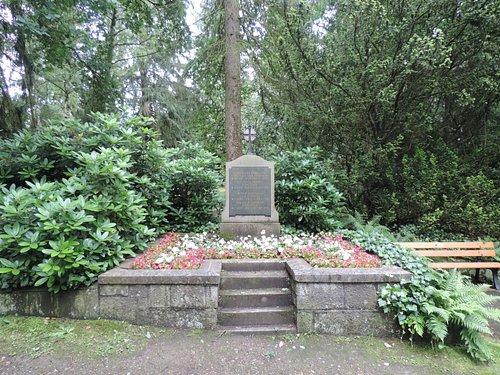 Rontgent's grave