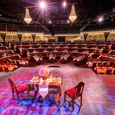 Beef & Boards offers a unique and intimate space with professional Broadway shows.