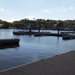 We are conveniently located in the Port of Dubuque!