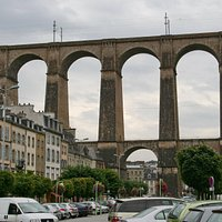 Viaduc de Morlaix   Morlaix, Finistere, Bretagne, France