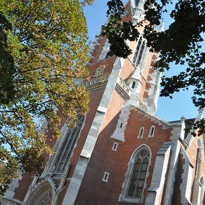 Sankt Elisabeth Kirche Blick in Richtung Südosten
