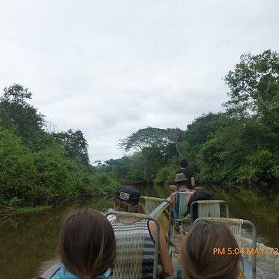 viajando por el rio Yucuma