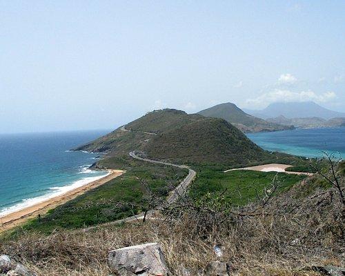 Atlantic on the left, Carib on the right