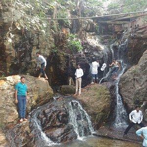 Waterfalls at Akash Ganga