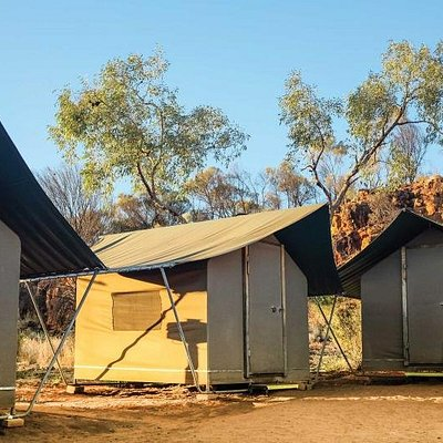 Stay at our exclusive permanent campsites