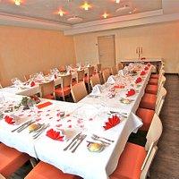 Bankettsaal Restaurant des alpes Fiesch