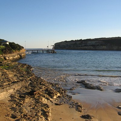 View from the beach at Port Campbell