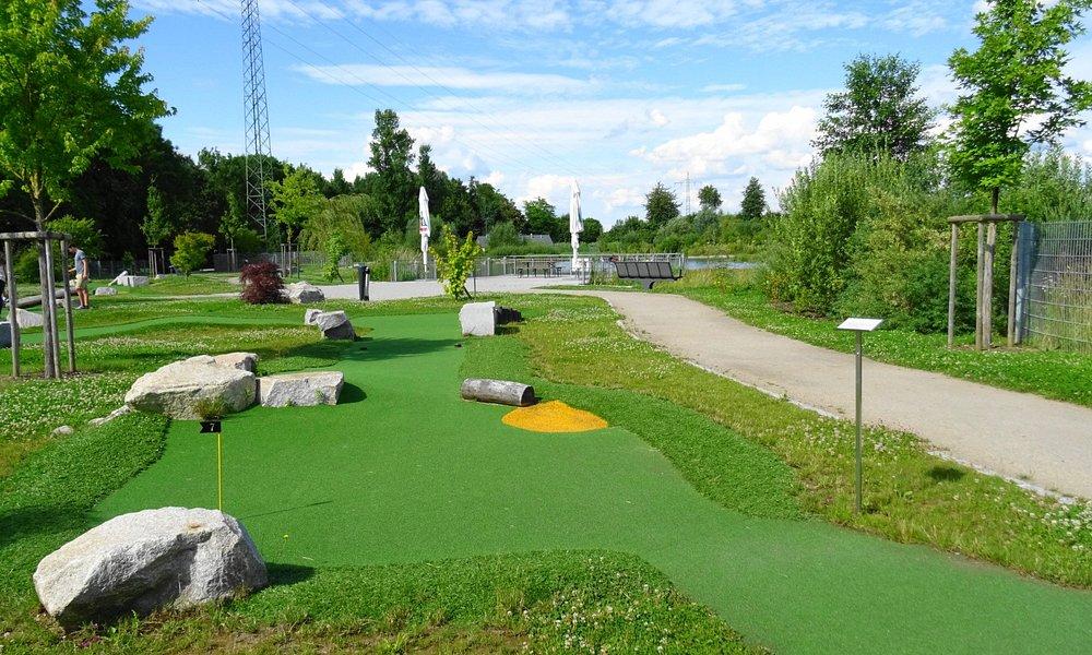 Übungs-Golfbahnen