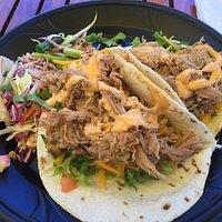 Kalua Pulled Pork Tacos