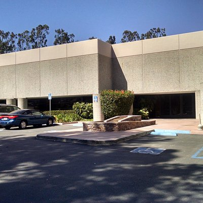 Exterior of the QLN Conference Center in Oceanside, CA