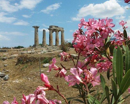 Temple d'Apolon à Corinth