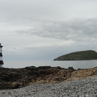 Penmon Point Light House and Puffin island