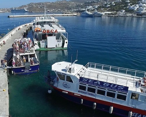 #SeaBus between #Mykonos #town and #cruise #port.