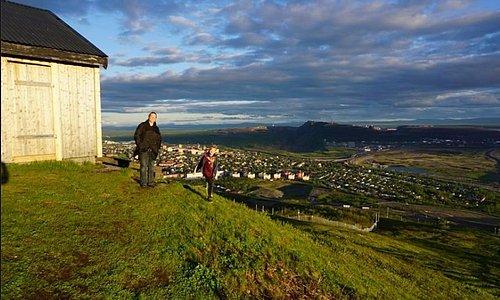 Med utsikt över Kiruna