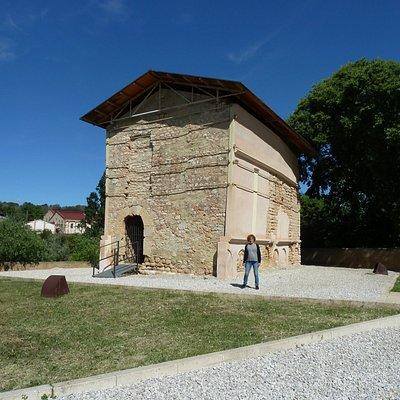 Fachada del Columbario.