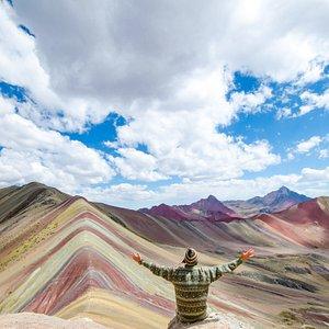 Rainbow mountain Day trek