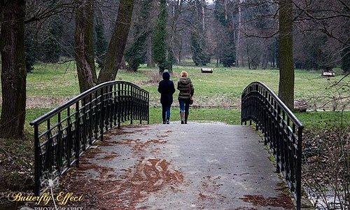 paseando por el parque