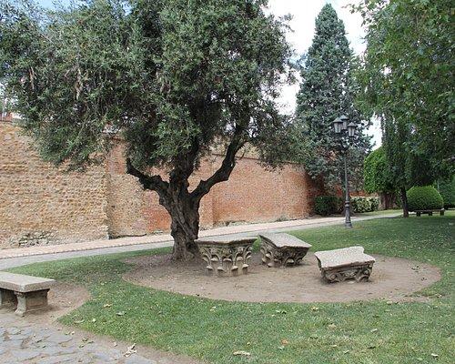 Un pequeno detalle del parque del Cid. ideal para un descanso y observar la cotidianidad.