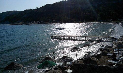 Sazlıca Plajları ve Camping, Serin ve Güneşli Bir sabah