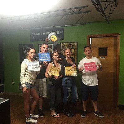 Come challenge yourselves in the Escape Room!