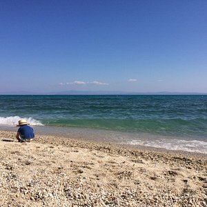 пляж Ханиоти, конец июня 2016