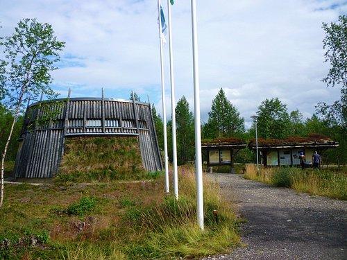 Informaton Centre from carpark
