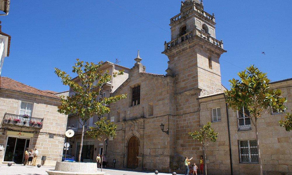 Plaza de la Merced, Iglesia convento mercedario en Verin